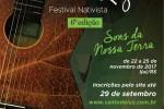 Festival Nativista Canto de Luz e Lamparina da Canção recebem inscrições
