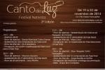 3ª edição do Festival Nativista Canto de Luz inicia-se nesta quarta-feira