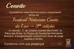 Lançamento oficial do Festival Nativista Canto de Luz será no sábado