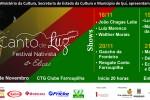 Festival Nativista Canto de Luz tem início nesta quarta-feira