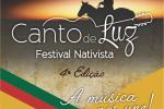 Festival Nativista Canto de Luz divulga a ordem de apresentação