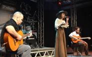 Juvenil - Andressa Corrêa Foletto, de Cruz Alta, cantou a milonga Açude (2).JPG
