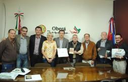 Homenagem visitante ilustre Prefeitura de Oberá