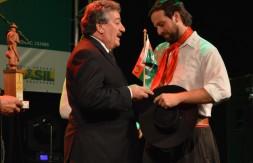 Premiação 1º lugar, Fudamentos pra Voltar, com Cristiano Fantinel