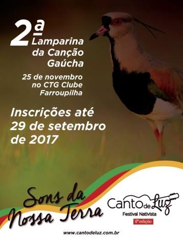 Intérpretes ijuienses terão vagas garantidas na 2ª Lamparina da Canção